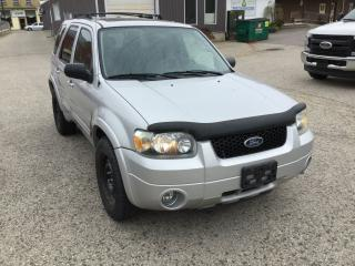 Used 2005 Ford Escape Limited | AS IS PRICE for sale in Harriston, ON
