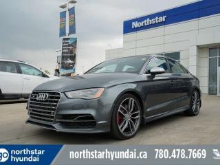 Used 2015 Audi S3 TECHNIK S3/LEATHER/SUNROOF/NAV for sale in Edmonton, AB