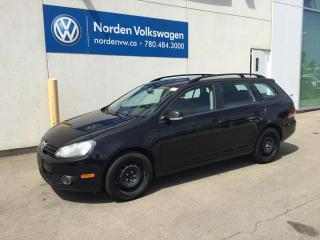 Used 2014 Volkswagen Golf Wagon 2.0 TDI TRENDLINE - VW CERTIFIED / HEATED SEATS for sale in Edmonton, AB