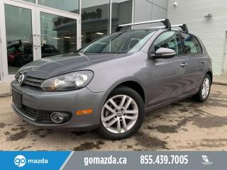 Used 2011 Volkswagen Golf TDI Comfortline SUNROOF POWER OPTIONS HEATED SEATS for sale in Edmonton, AB