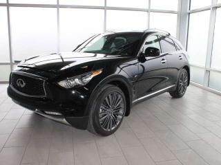 Used 2017 Infiniti QX70 LIMITED TECHNOLOGY for sale in Edmonton, AB