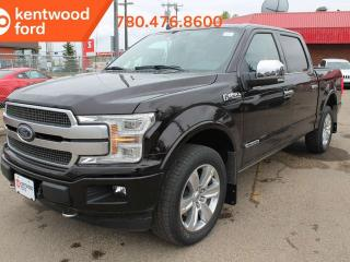 Used 2019 Ford F-150 Platinum 700A 3.0L V6 Diesel 4X4, Auto Start/Stop, Navigation, Remote Keyless Entry, Pre-Collision Assist, Remote Vehicle Start, Reverse Camera System for sale in Edmonton, AB