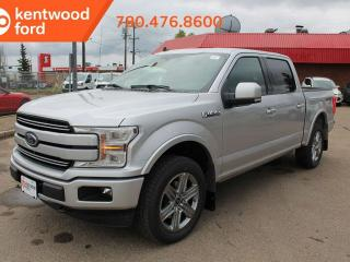 New 2019 Ford F-150 LARIAT 502A 2.7L Ecoboost 4X4 Supercrew, Auto Start/Stop, Pre-Collision Assist, Remote Keyless Entry, Remote Vehicle Start, Reverse Camera System, Heated Steering Wheel, Voice-Activated Navigation for sale in Edmonton, AB
