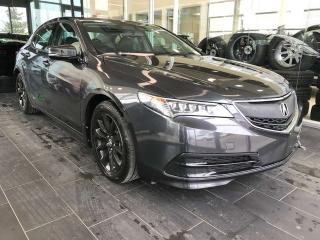 Used 2016 Acura TLX ACCIDENT FREE, HEATED LEATHER SEATS, PADDLE GEAR SHIFTS, SUNROOF for sale in Edmonton, AB