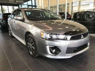 Used 2017 Mitsubishi Lancer Sportback ACCIDENT FREE, HEATED SEATS, REAR VIEW CAMERA, BLUETOOTH for sale in Edmonton, AB
