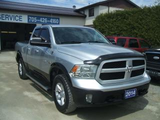 Used 2014 RAM 1500 Outdoorsman, Quad.Cab., 4X4, HEMI for sale in Beaverton, ON