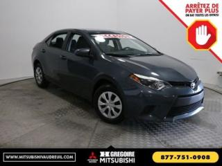 Used 2015 Toyota Corolla A/C GR ELECTRIQUE for sale in Vaudreuil-Dorion, QC