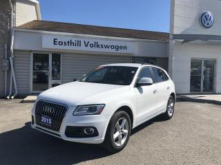 Used 2015 Audi Q5 2.0T Komfort quattro 8sp Tiptronic for sale in Walkerton, ON