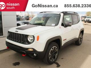 Used 2017 Jeep Renegade TRAILHWK for sale in Edmonton, AB