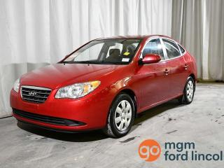 Used 2009 Hyundai Elantra GL FWD   HEATED FRONT SEATS   CD PLAYER   AIR CONDITIONING for sale in Red Deer, AB