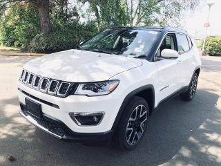 New 2019 Jeep Compass LIMITED for sale in Richmond, BC