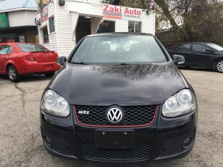 Used 2008 Volkswagen GTI Leather/Sunroof/Alloy/Certified for sale in Toronto, ON