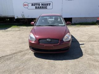 Used 2008 Hyundai Accent GLS for sale in Barrie, ON