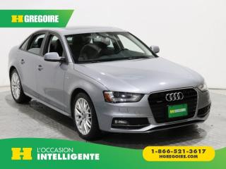 Used 2016 Audi A4 Komfort Plus Quattro for sale in St-Léonard, QC