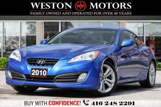 Used 2010 Hyundai Genesis Coupe MANUAL*2.0*TURBO*BLUETOOTH!!*WOW ONLY 71KM!!** for sale in Toronto, ON