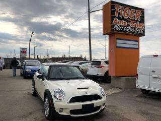Used 2007 MINI Cooper S**TURBO**LEATHER**ONLY 117 KMS**CERTIFIED for sale in London, ON