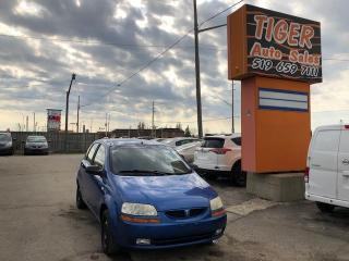 Used 2005 Pontiac Wave uplevel**MANUAL**ONLY 171KMS**AS IS SPECIAL for sale in London, ON