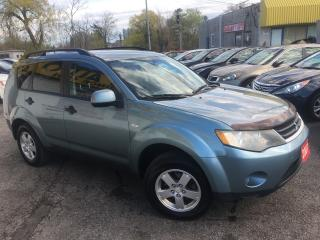 Used 2007 Mitsubishi Outlander LS/ AUTO/ 4WD/ PWR GROUP/ ALLOYS/ TINTED! for sale in Scarborough, ON