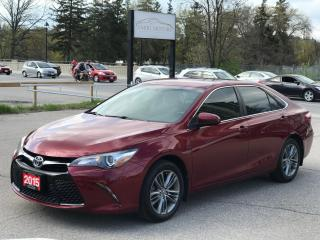Used 2015 Toyota Camry SE|ONE OWNER|NO ACCIDENT for sale in Cambridge, ON