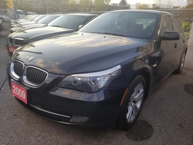 2009 BMW 5 Series Leather/Sunroof/Alloy Wheels/MUST SEE!