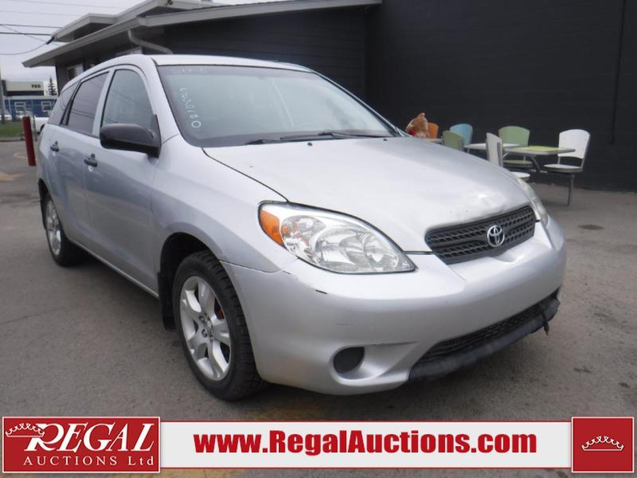 Photo of Grey 2006 Toyota Matrix