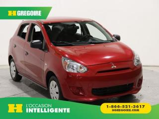 Used 2015 Mitsubishi Mirage ES A/C GR ELECT for sale in St-Léonard, QC