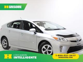 Used 2015 Toyota Prius 5DR HB CAMÉRA DE for sale in St-Léonard, QC