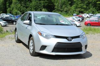 Used 2014 Toyota Corolla Berline 4 portes, boîte manuelle, CE for sale in Shawinigan, QC