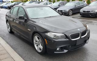 Used 2016 BMW 528 Xdrive Instant Classic for sale in Dorval, QC