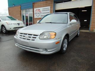 Used 2003 Hyundai Accent for sale in St-Eustache, QC