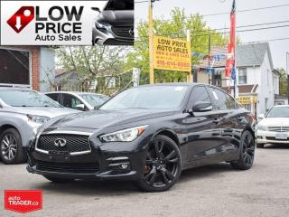 Used 2015 Infiniti Q50 Sport*Navi*Camera*BlindSpot*FullLoad* for sale in Toronto, ON