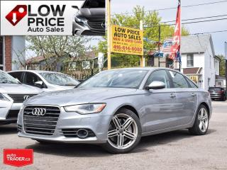 Used 2015 Audi A6 Tecknik*HUD*Navi*BlindSpot*360Cam*EveryOpti* for sale in Toronto, ON