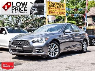 Used 2014 Infiniti Q50 Premium*AWD*Navi*Camera*FullOpti* for sale in Toronto, ON