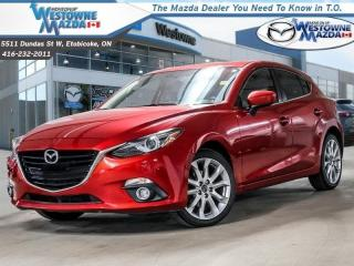 Used 2015 Mazda MAZDA3 GT - Sunroof -  Navigation for sale in Toronto, ON