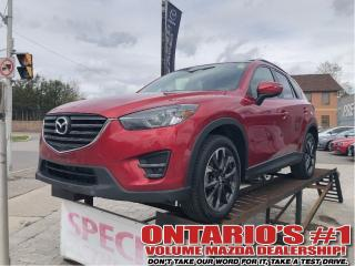 Used 2016 Mazda CX-5 GT-AWD/NAV/LEATHER SEATING/1.90%, C.P.O!!! for sale in Toronto, ON