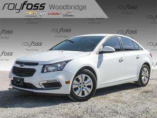 Used 2015 Chevrolet Cruze LT 1LT BACKUP CAM, BLUETOOTH for sale in Woodbridge, ON