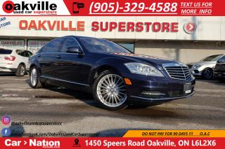 Used 2011 Mercedes-Benz S-Class S550 4MATIC LWB | PANO ROOF | NAV | BLUETOOTH for sale in Oakville, ON
