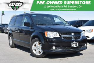 Used 2018 Dodge Grand Caravan Crew Plus - Roof Rack, Great Family Vehicle, Roof for sale in London, ON