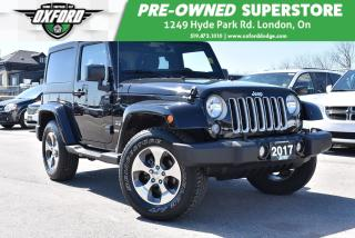 Used 2017 Jeep Wrangler Sahara - Running Boards, Remote Start, UConnect/Bl for sale in London, ON