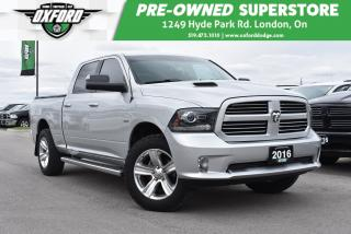 Used 2016 RAM 1500 Sport - Running Boards, GPS Navigation, Sunroof for sale in London, ON