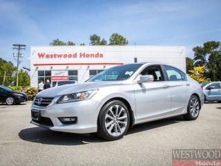 Used 2015 Honda Accord Sport for sale in Port Moody, BC