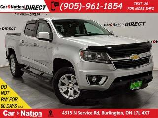 Used 2016 Chevrolet Colorado LT| BACK UP CAM| TONNEAU COVER| LOCAL TRADE| for sale in Burlington, ON