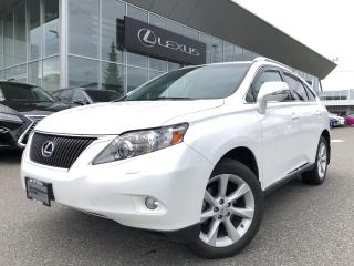 Used 2012 Lexus RX 350 6A Touring PKG, NO Accidents, LOW KMS for sale in North Vancouver, BC
