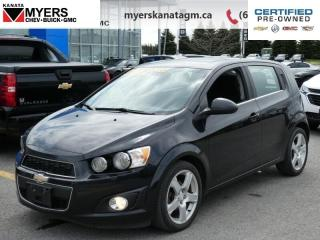 Used 2015 Chevrolet Sonic LT - Heated Seats -  Backup Camera for sale in Ottawa, ON