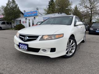 Used 2008 Acura TSX 4dr Sdn Man **ACCIDENT FREE** for sale in Brampton, ON