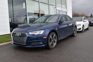 Used 2017 Audi A4 Technik Camera 360 for sale in St-Jérôme, QC