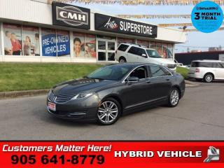 Used 2015 Lincoln MKZ Hybrid  RESERVE CS ROOF NAV 4X-HS BS CAM for sale in St. Catharines, ON