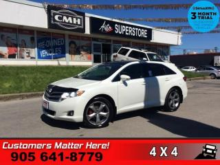 Used 2016 Toyota Venza AWD  V6 AWD LEATH ROOF CAM HS P/SEAT BT for sale in St. Catharines, ON