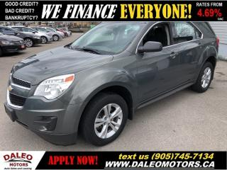 Used 2013 Chevrolet Equinox LS | BLUETOOTH for sale in Hamilton, ON