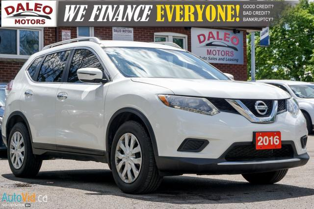 2016 Nissan Rogue S | AWD | BACK UP CAM | BLUETOOTH